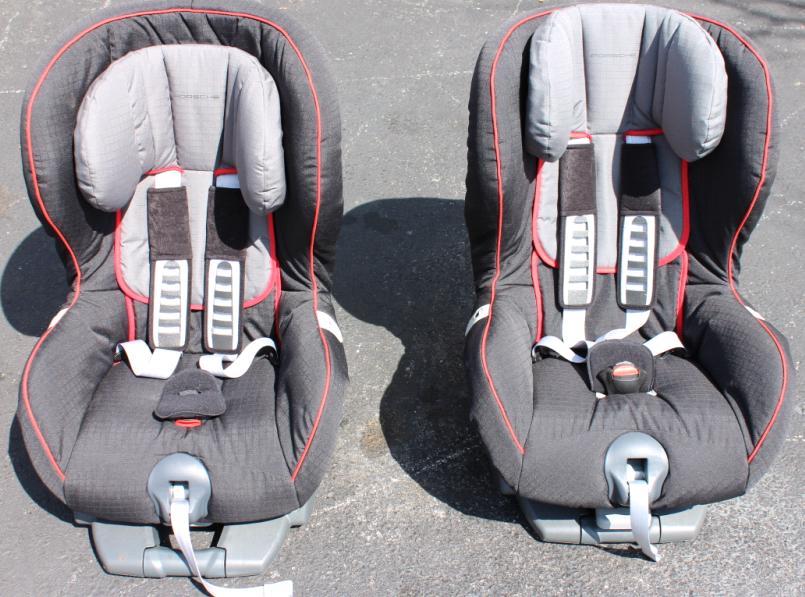 Authentic Porsche G1 Isofix Child Car Seats X 2